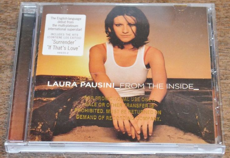 Laura Pausini : From the Inside CD (2002) #Italy