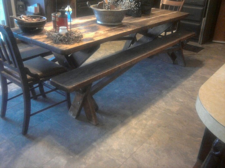 picnic style kitchen tables rustic table garden antique