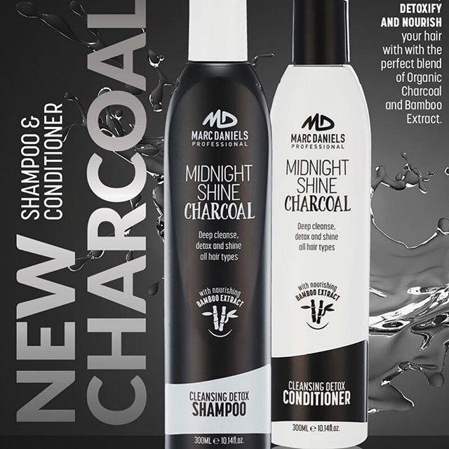 Marc Daniels New Midnight Shine Charcoal Range Is