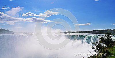 Niagara Falls, Horsehoe Falls in Canada
