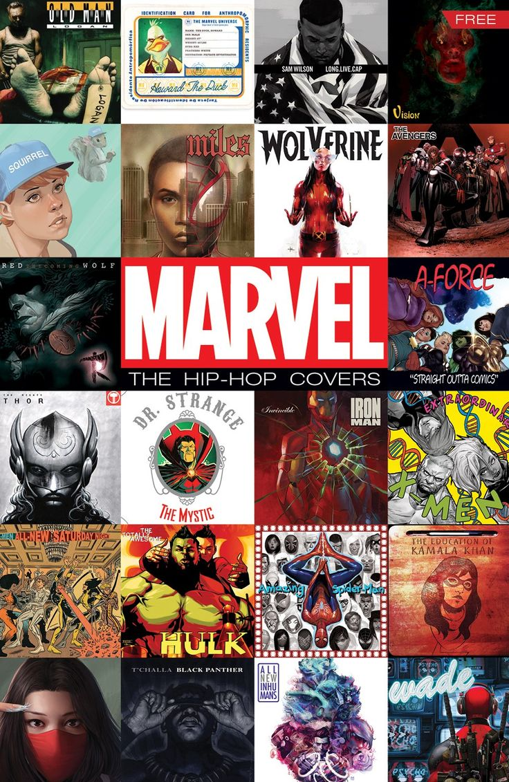 .Killer Mike's Introduction to Marvel's 'The Hip-Hop Covers'  #comics #music #culture