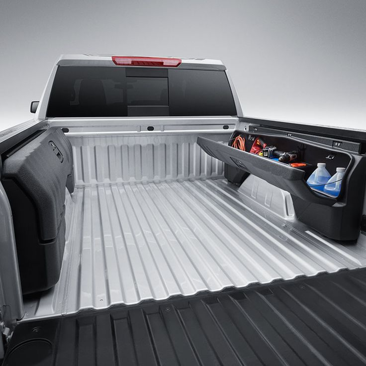 2019 Silverado 1500 Side Mounted Bed Storage Box Package ...