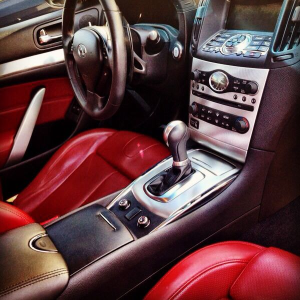 1999 Infiniti G Interior: Red Leather Interior In The G37 IPL