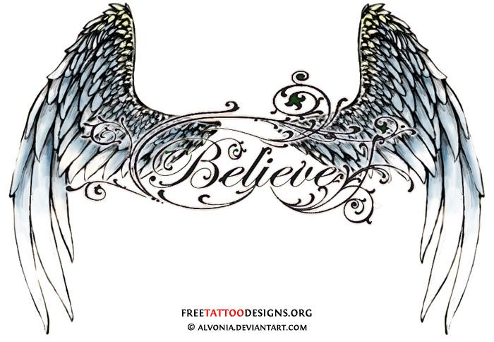 Angel Wing Tattoos For Girls On Lower Back
