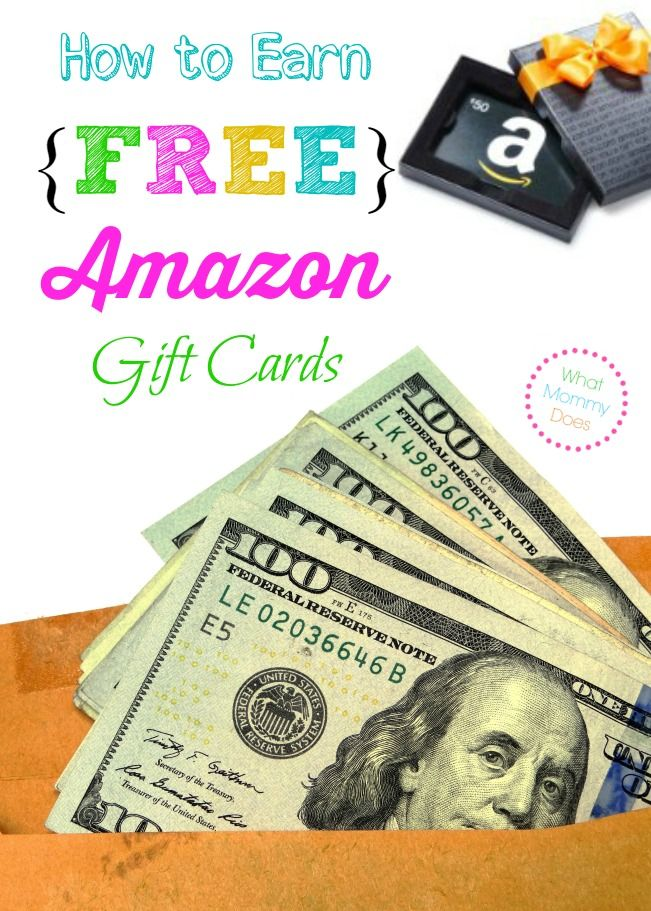 This is my go-to way to earn free Amazon gift cards. I figure everyone can use some extra money!