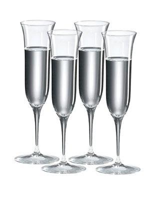 Ravenscroft Crystal Set of 4 Grappa/Cordial Glasses, 4-Oz.