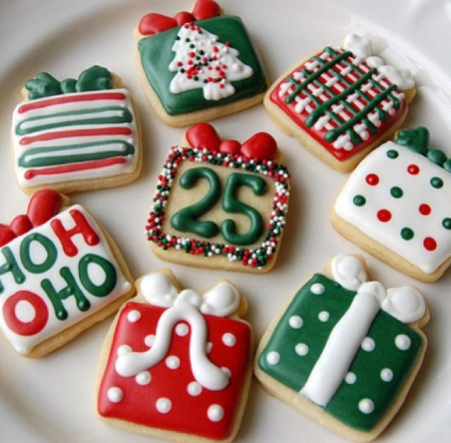 Christmas cookie baking -ours will look like smears of frosting and a pound of sprinkles per cookie.