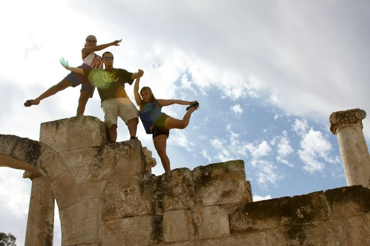 yoga anywhere: Faces, Places, Yoga
