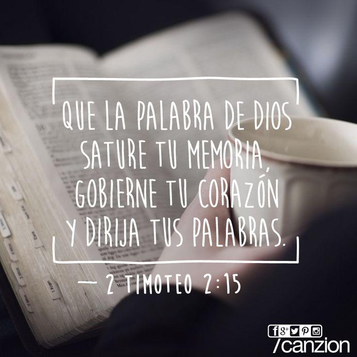 «Esfuérzate para poder presentarte delante de Dios y recibir su aprobación. Sé un buen obrero, alguien que no tiene de qué avergonzarse y que explica correctamente la palabra de verdad». —2 Timoteo 2:15