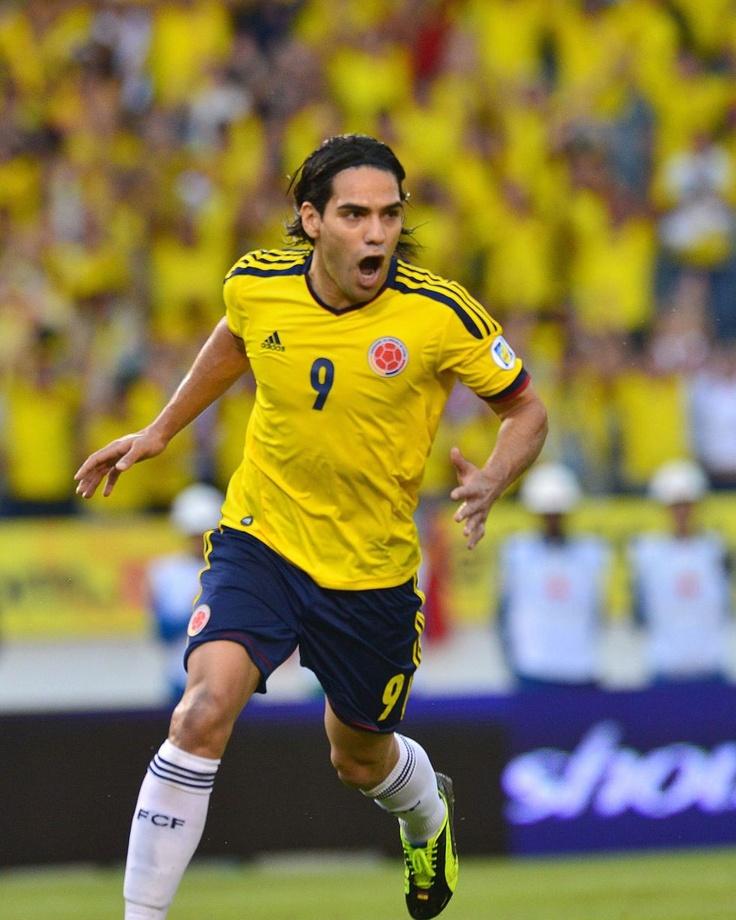 Colombia 2 Peru 0. Falcao.