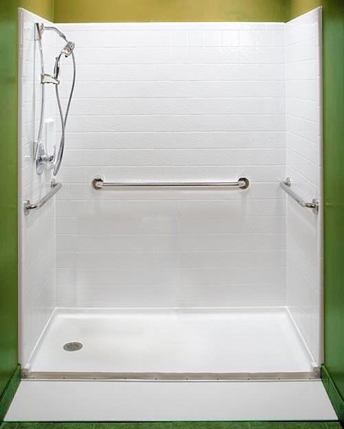 17 best images about wheelchair accessible roll in shower for How to build a wheelchair accessible shower