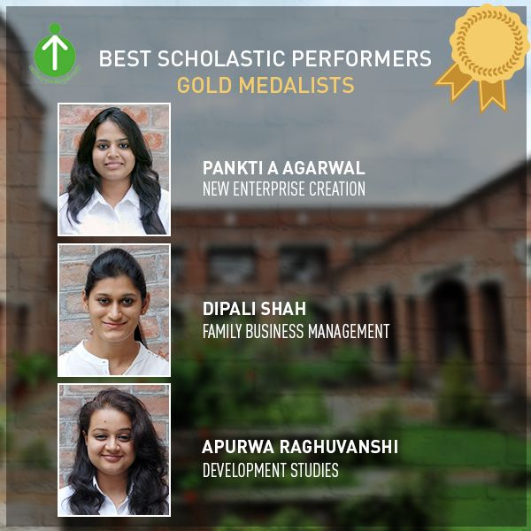 EDII Congratulates students from 2015-17 PGDM BE & PGDM DS batches who made it to the top. A warm congratulations and wishes for a flying success for their bright future. Join us in wishing Gold medalists of EDII.    Are you willing to start a flying career in entrepreneurship? Apply for admissions in 2017 batch here: http://forms.ediindia.ac.in/