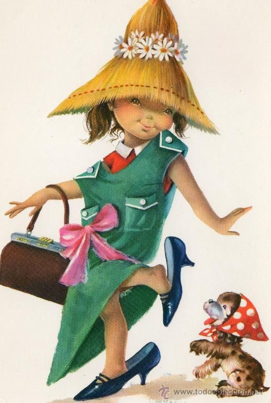 postal infantil - Comprar Postales antiguas de Dibujos y Caricaturas en todocoleccion - 34401704