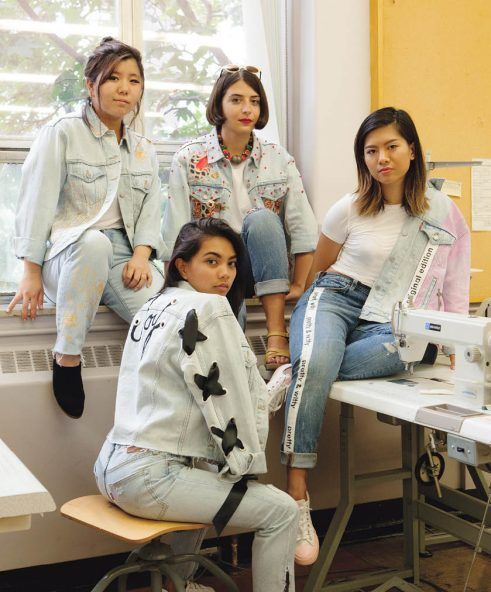 We gave standout students and recent grads of Ryerson's Fashion School carte blanche to reinterpret the Levi's Trucker jacket. (At 50 years young, it's been around more than twice as long as they have.) They got so into it that they did the jeans too!