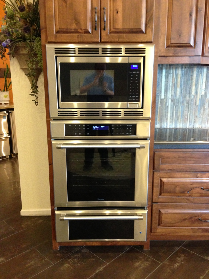 Thermador Triple Oven Microwave Amp Warming Drawer Add A