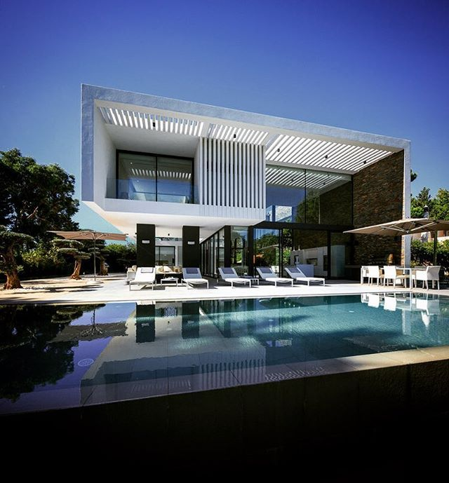 Best LmH Exteriors Images On Pinterest - Contemporary purity and simplicity pool villa by jm architecture italy