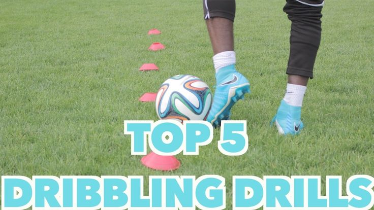 TOP 5 SOCCER DRIBBLING DRILLS - YouTube
