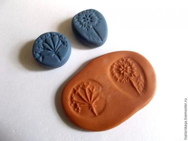 Самодельные штампы из полимерной глины и восхитительные украшения, созданные с их помощью
