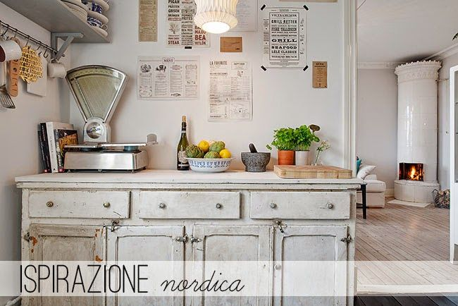 so adorable shabby kitchen