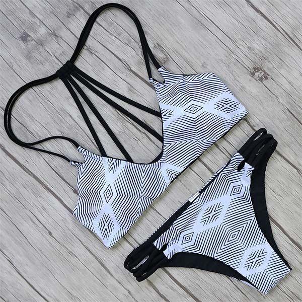 Hot Sexy Brazilian Bikini Swimwear Swimsuit Bathing Suit Women Biquini 2017 Push Up Bikini Set Femme Beach Wear Swim Suit