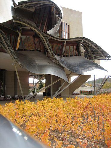 Cubierta metálica | Hotel Marqués de Riscal, Elciego. Frank Ghery