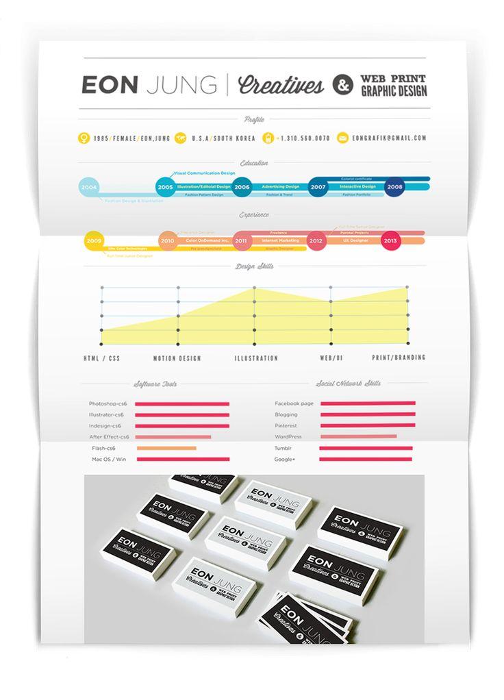 Self Promo - Infographic Resume - Eon
