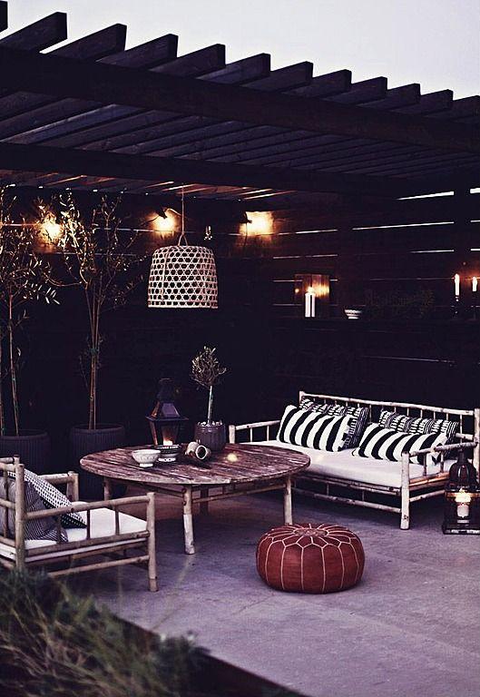 #terras #strand inspiratie patio - veranda #dechibeach