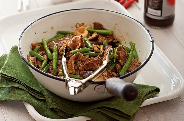 Thai Beef And Bean Stir-Fry |  CSIRO Total Wellbeing Diet