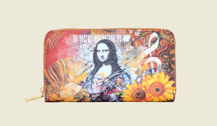 Mona Lisa Flower Power purse
