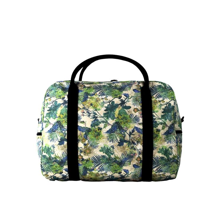 Hey jungle lover! Be the envy of the Amazon with this lush Duffle Bag. #elephantstripes