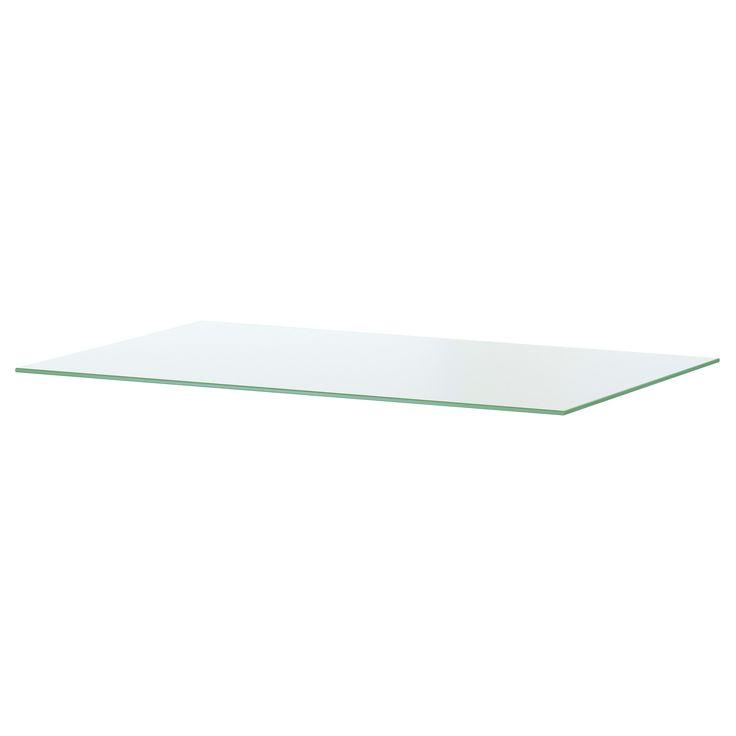 HEMNES Plateau en verre - 54x38 cm - IKEA