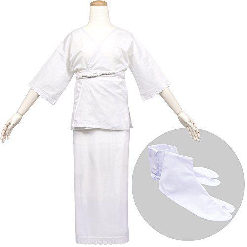 (キョウエツ) KYOETSU レディース肌着3点セット 結婚式/成人式 (肌着/裾除け/福助足袋) (肌着 L + 足袋 25.5cm)
