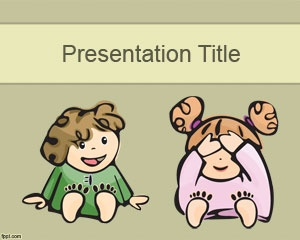 19 best babies and kids backgrounds for powerpoint images on if you need to make presentations for kids or babies then this free peekaboo baby slide designppt templatetemplateskids toneelgroepblik Image collections