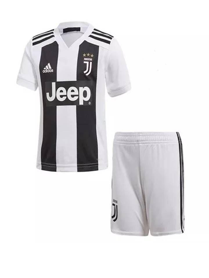 717521b615 kit infantil Juventus Oficial Adidas Cristiano Ronaldo Pronta Entrega