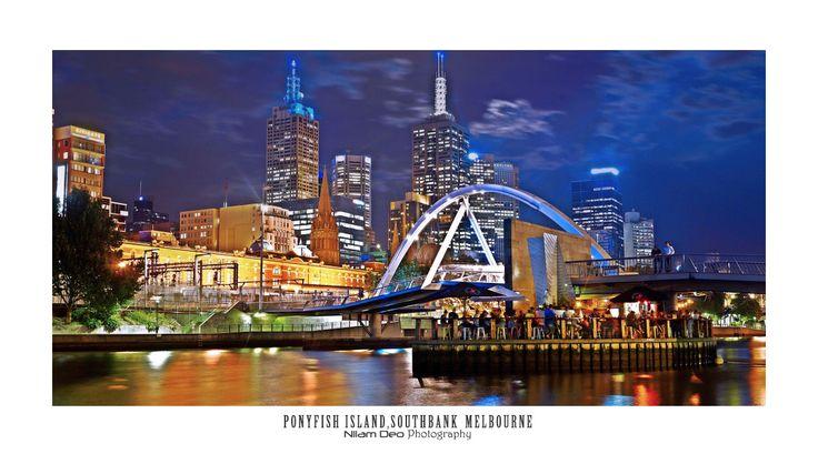 Ponyfish Island, Southbank, Melbourne