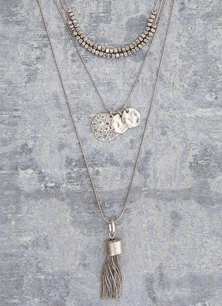 Triple Layered Necklace #MintVelvet #SS15 #MVSS15
