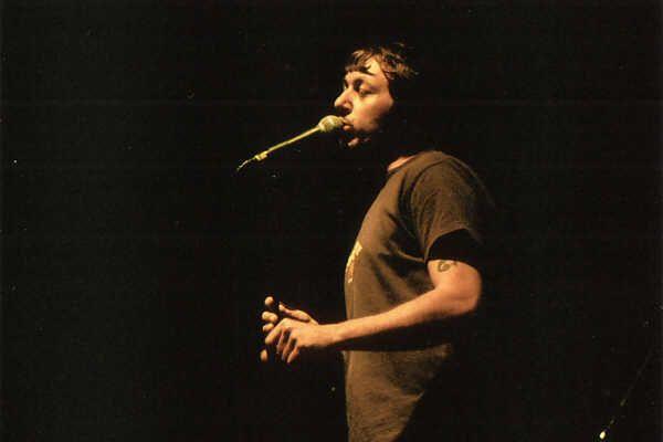 Intervista a Neffa prima del suo concerto a Villa Lampedusa per il Palermo Fest - 01/07/2004