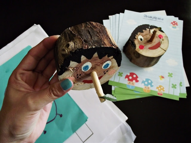 M.a.k.e. Pinocchio, the paperweight !