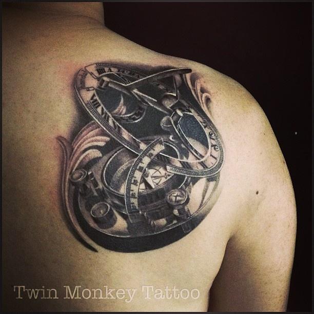Twin monkey tattoo jkt tattoo by him pinterest for Year of the monkey tattoo