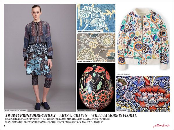 Autumn/Winter 2016/17 Print Trend Report Part 1 + 64 Stock Designs | Patternbank