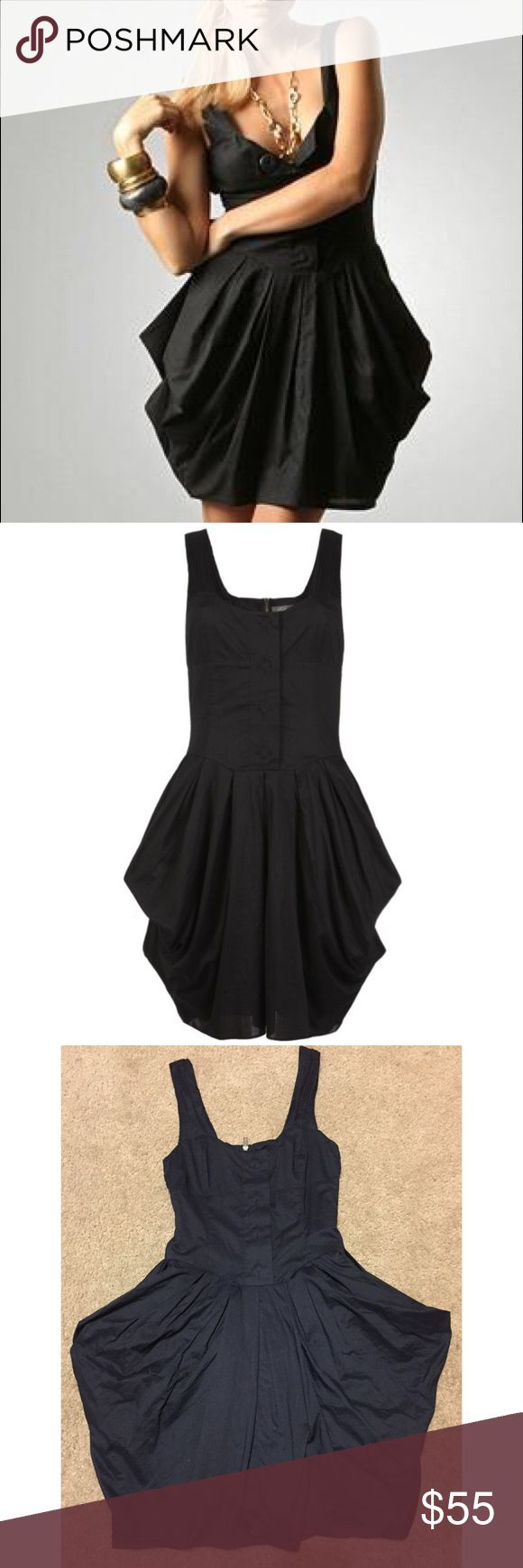 "ALLSAINTS Beaujolais Black Cotton Dress Sz 6 Small Classic Allsaints dress in size US 6 but runs smaller. Approx: 16"" across chest, 13"" Waist & 35.5"" length. 100% cotton ..Great condition! All Saints Dresses"