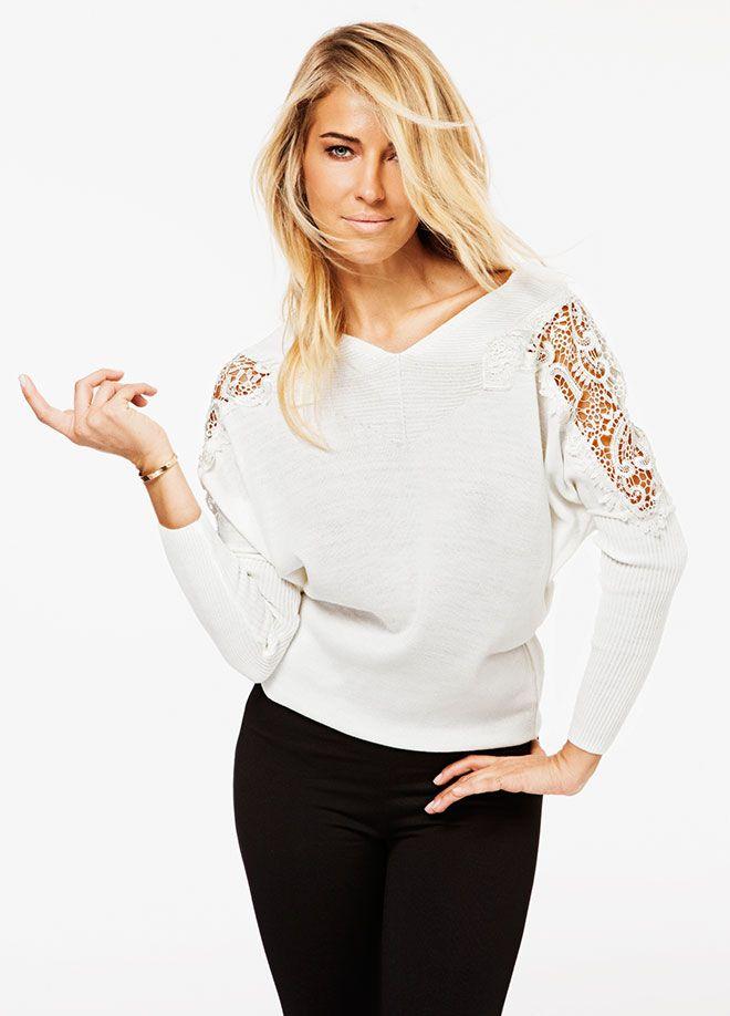SATEEN Life Omuzu Dantelli Triko Markafoni'de 59,99 TL yerine 29,99 TL! Satın almak için: http://www.markafoni.com/product/5529423/ #moda #stil #trend #burcuesmersoy #etek #monokrom #siyah #beyaz #leopar #fashion #style #stylish #markafoni #celebrity