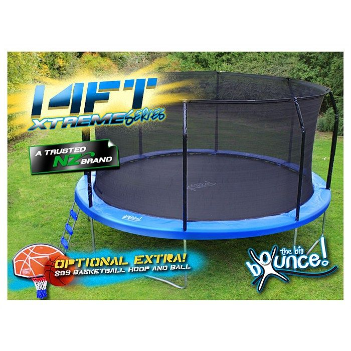 14ft TheBigBounce X-TREME Trampoline Series