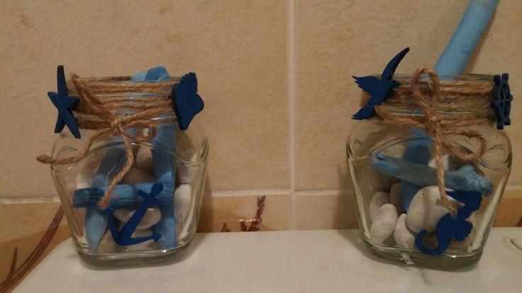 marina taş deniz martı deniz-banyo dekoru