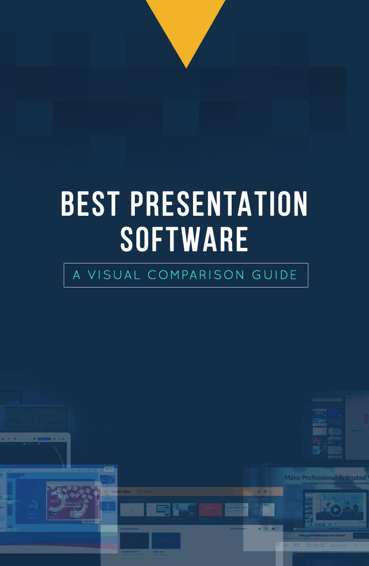 All the best presentation software compared in one visual