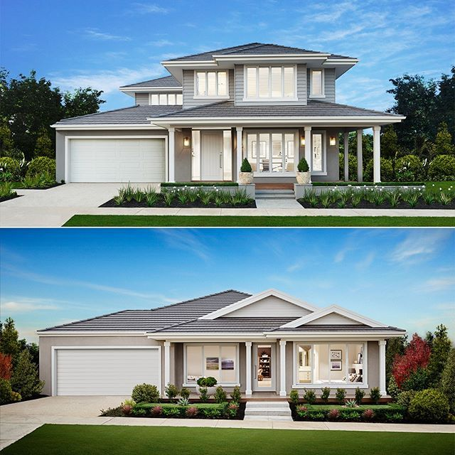 Loving our new Hamptons façade? This isn't just available on the new Montauk 49 – it's also available on another 8 double storey homes!  From the 30 square Airlie to the 45 square Grange, we have floorplans and design options to suit every lifestyle.  Or, if single storey is more your style, the Southampton façade is available with most of our single storey designs.  Contact a New Homes Consultant to find out more on 9008 7475. -  #boutiquehomesvictoria  #hamptonsstyle