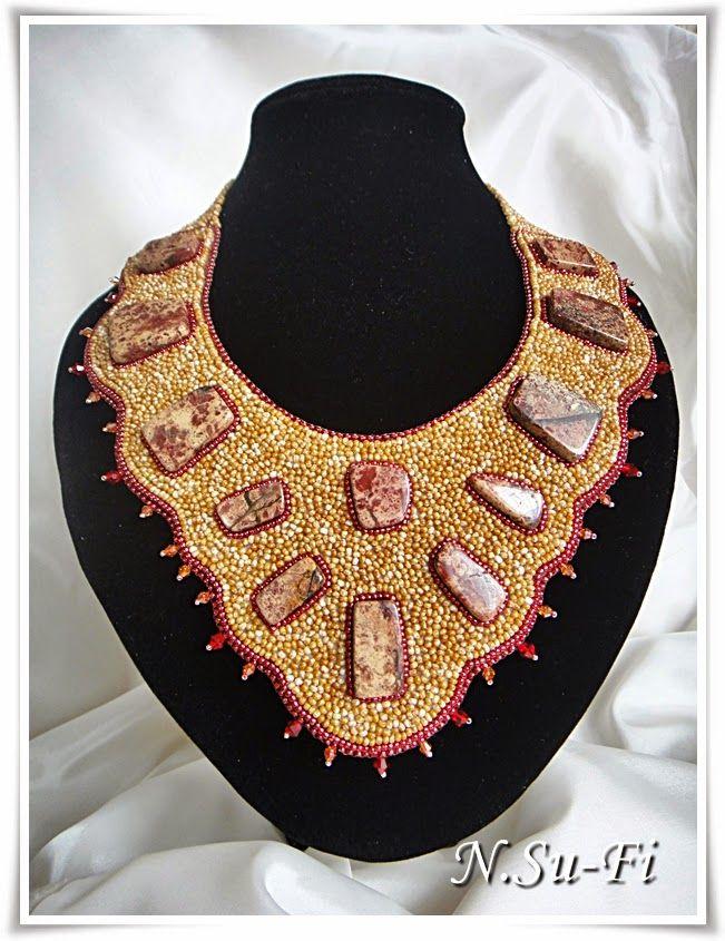 "Biżuteria od N.Su-Fi: Naszyjnik ""Skarby pustyni"""