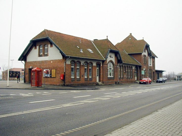 Artikel om lukning af stationen i Gråsten.