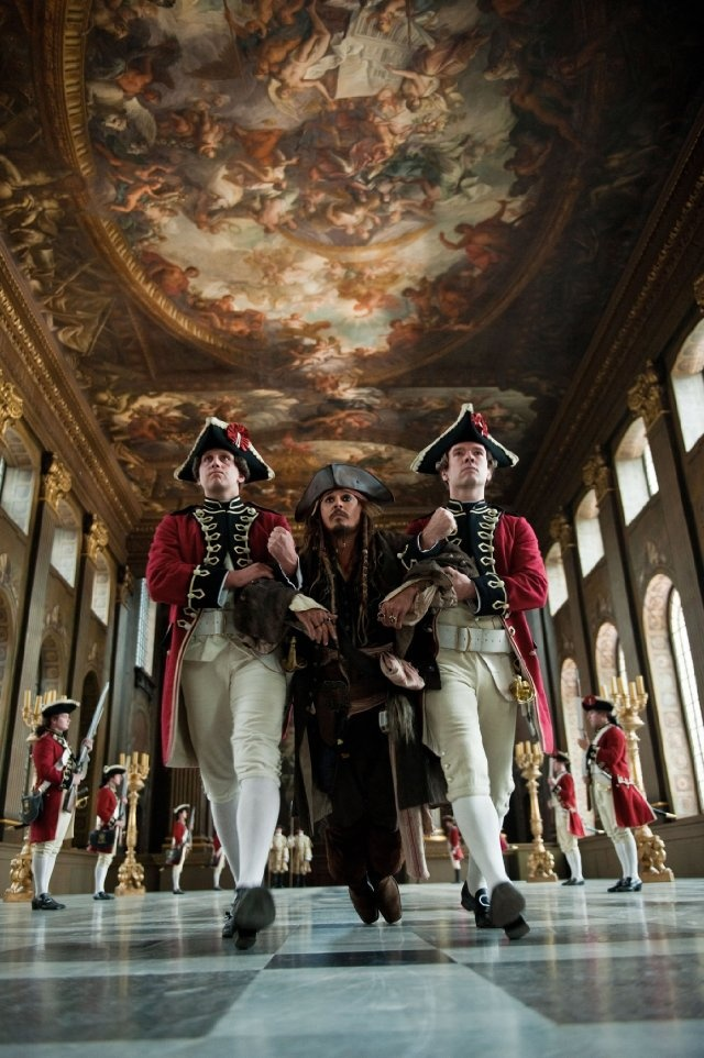 Still of Johnny Depp in Pirates of the Caribbean: On Stranger Tides