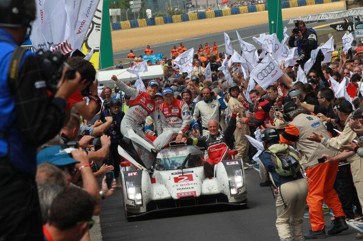 Audi wins in Le Mans 2014: http://www.neuwagen.de/auto-industrie-news/4776-audi-feiert-doppelsieg-in-le-mans.html